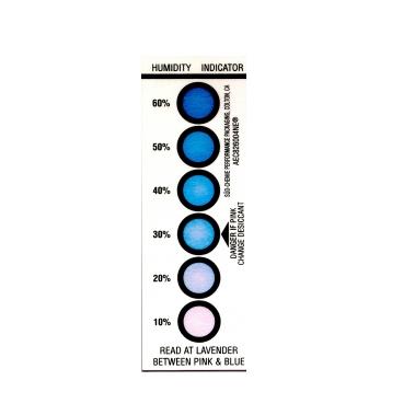 אינדיקטור לחות לסימון 10-60 אחוזי לחות יחסית