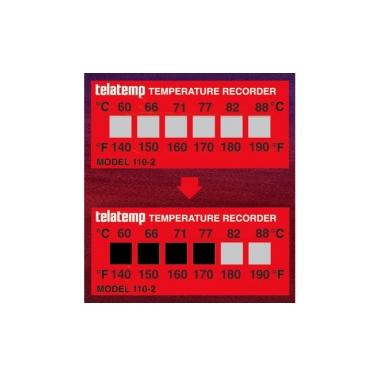 Irreversible Temperature Labels