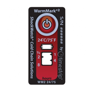 WarmMark2 Time/temp indicator